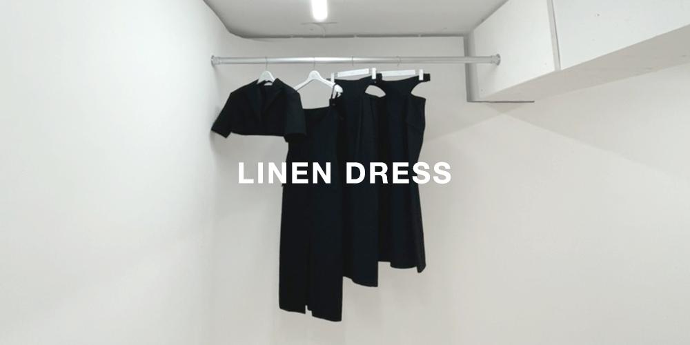 MELTTHELADY LINEN DRESS